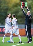 S&ouml;dert&auml;lje 2013-09-28 Fotboll Allsvenskan Syrianska FC - IF Brommapojkarna :  <br /> Brommapojkarna 21 Andreas Eriksson byts ut mot Brommapojkarna 10 Gabriel &Ouml;zkan <br /> (Foto: Kenta J&ouml;nsson) Nyckelord: