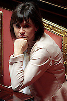 Simona Vicari.Roma 21/05/2013 Senato. Il Premier riferisce al Senato sul consiglio UE..Italian Premier's speech at the Senate about UE..Photo Samantha Zucchi Insidefoto