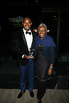 TYSON BECKFORD AND THE LEGENDARY BETHANN HARDISON  AT COURVOISIER'S EXCEPTIONAL JOURNEY LAUNCH EVENT HOSTED BY CHEF ROBLE HELD AT  THE SKYLARK