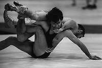 Pix:Michael Steele/SWpix...Wrestling, Manchester, 1987...COPYRIGHT PICTURE>>SIMON WILKINSON..Wrestling, Manchester.