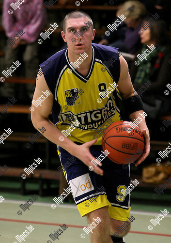 2010-01-17 / Basketbal / seizoen 2009-2010 / Antwerp Giants 2 - BBC Geel / Jozef Casteels..Foto: mpics