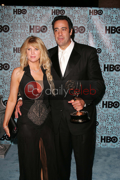 Brad Garrett and wife Jill<br />