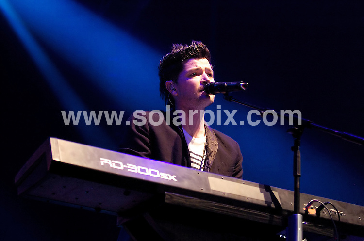 **ALL ROUND PICTURES FROM SOLARPIX.COM**                                             **WORLDWIDE SYNDICATION RIGHTS**                                                                                  Caption:  The Script perform live in concert at the Liverpool Echo Arena, Liverpool, UK. 14 March 2011                                                                       This pic: The Script                                                                                             JOB REF: 12965 SGD       DATE: 14_03_2011                                                           **MUST CREDIT SOLARPIX.COM OR DOUBLE FEE WILL BE CHARGED**                                                                      **MUST AGREE FEE BEFORE ONLINE USAGE**                               **CALL US ON: +34 952 811 768 or LOW RATE FROM UK 0844 617 7637**