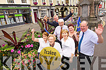 Tralee Tidy towns volunteers helping to get Tralee ready for the judging of the Entente Floralecompetition which will bill be judhed next Thursday, from left: Kit Ryan, Mary O'Brien, Kieran Ruttledge, Johnny Wall, Josephine Griffin, Triona Houlihan and John Griffin.