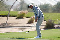 Adrian Meronk (POL) on the 1st during the Pro-Am of the Commercial Bank Qatar Masters 2020 at the Education City Golf Club, Doha, Qatar . 04/03/2020<br /> Picture: Golffile   Thos Caffrey<br /> <br /> <br /> All photo usage must carry mandatory copyright credit (© Golffile   Thos Caffrey)