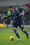 Sebastiano Esposito of Inter during the Coppa Italia match at Giuseppe Meazza, Milan. Picture date: 14th January 2020. Picture credit should read: Jonathan Moscrop/Sportimage