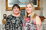 BIRTHDAY NIGHT OUT: Bernie O'Sullivan, Cordal (right), pictured with her friend Carmel O'Connell as they celebrated Bernie's birthday with a meal in Bella Bia on Thursday night last.