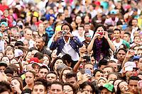 OSASCO, SP, 01.05.2014 - 1º DE MAIO COMEMORAÇÃO DIA DO TRABALHADOR  - Milhares de pessoas se concentram no Estadio do Vila Yolanda em Osasco para comemorar o Dia Internacional do Trabalhador organizado pela Central Única dos Trabalhadores (CUT), Central dos Trabalhadores do Brasil (CTB) e a Central dos Sindicatos Brasileiros (CSB) - (Foto: Aloisio Mauricio / Brazil Photo Press)