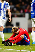 2nd December 2017, Wanda Metropolitano, Madrid, Spain; La Liga football, Atletico Madrid versus Real Sociedad; Antonie Griezmann (7) Atletico de Madrid's player