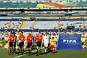 Two team group, JUNE 29, 2011 - Football : Players enter the pitch before the 2011 FIFA U-17 World Cup Mexico Round of 16 match between Japan 6-0 New Zealand at Estadio Universitario in Monterrey, Mexico. (Photo by MEXSPORT/AFLO)