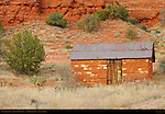 Stone Outbuilding, Crescent Moon Ranch, Red Rock Crossing, Sedona, Arizona