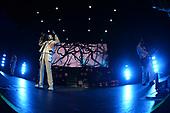 MIAMI BEACH, FL - OCTOBER 29: Oliver Sykes, Lee Malia, Matt Kean, Matt Nicholls, Jordan Fish and John Jones of Bring Me the Horizon perform at the Fillmore on October 29, 2019 in Miami Beach, Florida. Credit Larry Marano © 2019