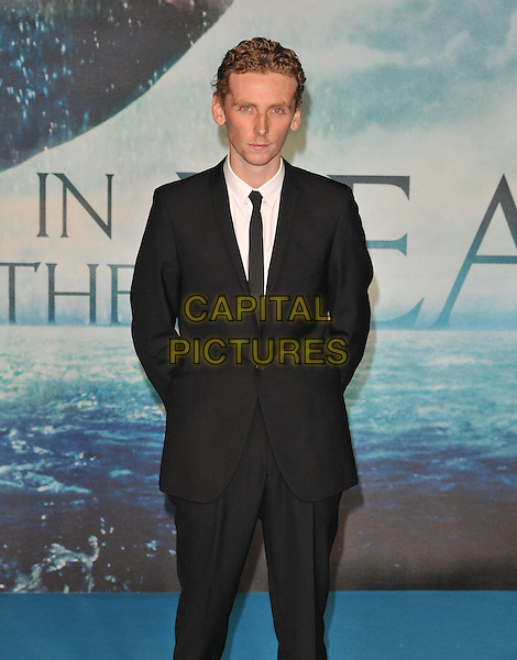Edward Ashley attends the &quot;In The Heart Of The Sea&quot; European film premiere, Empire cinema, Leicester Square, London, UK, on Wednesday 02 December 2015.<br /> CAP/CAN<br /> &copy;CAN/Capital Pictures