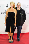 """Belen Rueda and Alex de la Iglesia during the premiere of the spanish film """"Un Monstruo Viene a Verme"""" of J.A. Bayona at Teatro Real in Madrid. September 26, 2016. (ALTERPHOTOS/Borja B.Hojas)"""