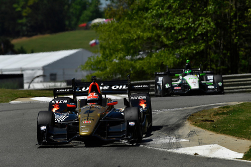 22-24 April, 2016, Birmingham, Alabama USA <br /> 5 James Hinchcliffe<br /> ©2016, Scott R LePage <br /> LAT Photo USA