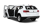 Car images close up view of a 2019 Volkswagen Atlas S 5 Door SUV doors