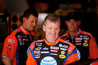 Apr 25, 2008; Talladega, AL, USA; NASCAR Sprint Cup Series driver Jeff Burton during practice for the Aarons 499 at Talladega Superspeedway. Mandatory Credit: Mark J. Rebilas-US PRESSWIRE