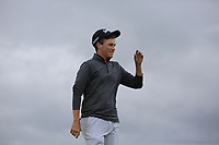 Aaron Edwards-Hill (Chelmsford) after the final of the North of Ireland Amateur Championship, Portstewart Golf Club, Portstewart, Antrim,  Ireland. 12/07/2019<br /> Picture: Golffile | Fran Caffrey<br /> <br /> <br /> All photo usage must carry mandatory copyright credit (© Golffile | Fran Caffrey)