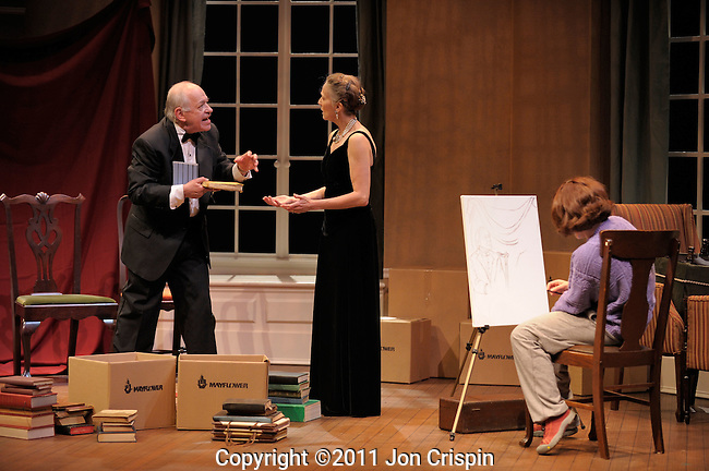 """New Century Theatre production of """"Painting Churches""""..©2011 Jon Crispin.ALL RIGHTS RESERVED.."""
