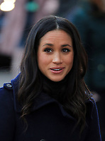 01 December 2017 - Meghan Markle. Terrence Higgins Trust World AIDS Day Charity Fair at Nottingham Contemporary in Nottingham, Nottinghamshire. Photo Credit: Stephen Daniels/ALPR/AdMedia