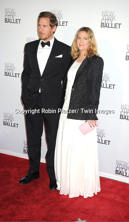 Will Kopelman and fiancee Drew Barrymore attends the New York City Ballet Spring Gala on May 10, 2012 at David Koch Theater in Lincoln Center in New York City.