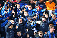 20191023 - Genk: Genk's young supporters are pictured during the UEFA Youth League group stages match between KRC Genk Youth and Liverpool FC on October 23, 2019 at KRC Genk Stadium Arena B, Genk, Belgium. PHOTO:  SPORTPIX.BE | SEVIL OKTEM
