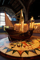 Museu Maritim in der ehemaligen Werft Drassanes, Barcelona, Spanien