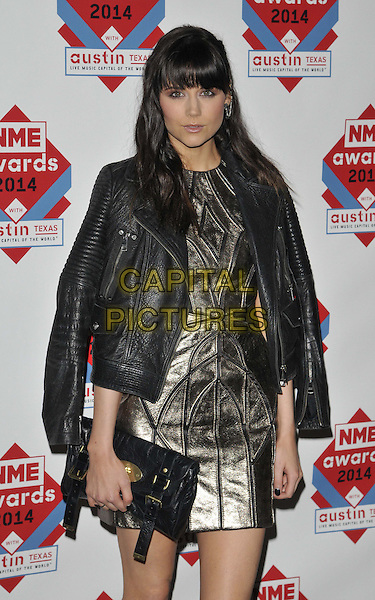 LONDON, ENGLAND - FEBRUARY 26: Lilah Parsons attends the NME Awards 2014, O2 Academy Brixton, Stockwell Rd., on Wednesday February 26, 2014 in London, England, UK.<br /> CAP/CAN<br /> &copy;Can Nguyen/Capital Pictures<br /> <br /> CAP/CAN<br /> &copy;Can Nguyen/Capital Pictures