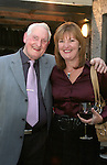 James Kennedy with his daughter Ann Judge at Kennedys 60th Anniversary...Photo NEWSFILE/Jenny Matthews.(Photo credit should read Jenny Matthews/NEWSFILE)....This Picture has been sent you under the condtions enclosed by:.Newsfile Ltd..The Studio,.Millmount Abbey,.Drogheda,.Co Meath..Ireland..Tel: +353(0)41-9871240.Fax: +353(0)41-9871260.GSM: +353(0)86-2500958.email: pictures@newsfile.ie.www.newsfile.ie.FTP: 193.120.102.198.