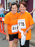 Anita Bolton and Mary Byrne who ran in the Clogherhead 10k. Photo: Colin Bell/pressphotos.ie