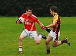 Garrymore's  .during the  U21 b County final...Pic COnor McKeown