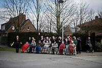 not your average cheering roadside fans<br /> <br /> 71st Dwars door Vlaanderen (1.HC)