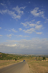 Israel, Upper Galilee. Meelia-Manot scenic road