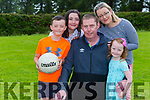Tadhg OCallaghan Rathmore with his wife Orla and his  children l-r: Tiernan, Clodagh and Fiadh