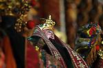 Bao-jhong Yi-min Temple, Kaohsiung -- A Taoist god.