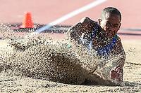 TORONTO, CANADÁ, 22.07.2015 - PAN-ATLETISMO - Brasileiro Higor Alves do Salto a distancia no atletismo nos Jogos Panamericanos na cidade de Toronto no Canadá, nesta quarta-feira, 22 (Foto: Vanessa Carvalho/Brazil Photo Press)