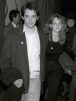 Matthew Broderick and Helen Hunt Undated<br /> Photo By John Barrett/PHOTOlink