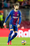 Gerard Pique Bernabeu of FC Barcelona during the La Liga 2017-18 match between FC Barcelona and Sevilla FC at Camp Nou on November 04 2017 in Barcelona, Spain. Photo by Vicens Gimenez / Power Sport Images
