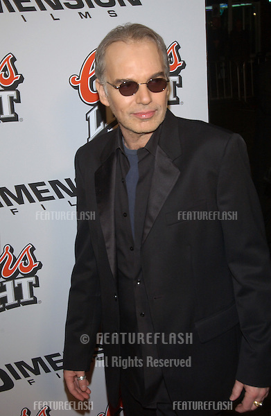 Actor BILLY BOB THORNTON at the Los Angeles premiere of his new movie Bad Santa. .November 18, 2003