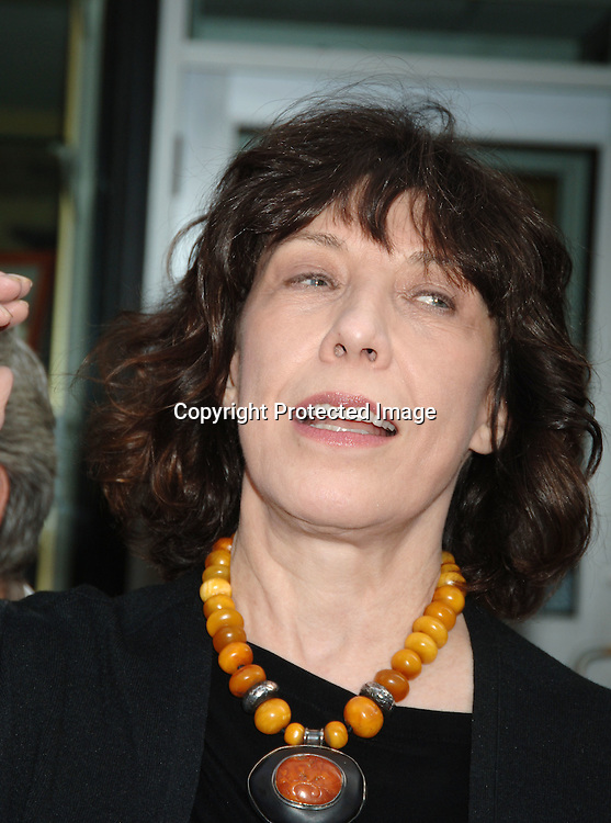 """Lily Tomlin..at The New York Premiere of """"A Prairie Home Companion""""..on June 4, 2006 at The DGA Theatre. ..Robin Platzer, Twin Images"""