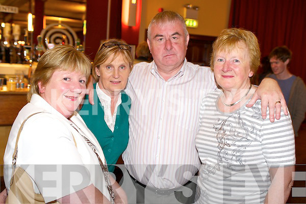 OPENING NIGHT: Pictured at the opening night of Le Grande Cirque in the INEC on Tuesday night were Sheila Doona, Christine Cronin, Tim Doona and Cecilia O'Shea, Killarney.   Copyright Kerry's Eye 2008