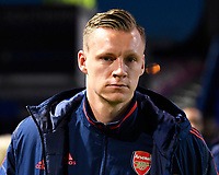 Bernd Leno of Arsenal during Portsmouth vs Arsenal, Emirates FA Cup Football at Fratton Park on 2nd March 2020