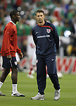 06 February 2008: U.S. assistant coach Mike Sorber (USA). The United States Men's National Team played the Mexico Men's National Team to a 2-2 tie at the Reliant Stadium in Houston, TX in a men's international friendly soccer game.