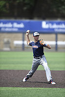TEMPORARY UNEDITED FILE:  Image may appear lighter/darker than final edit - all images cropped to best fit print size.  <br /> <br /> Under Armour All-American Game presented by Baseball Factory on July 19, 2018 at Les Miller Field at Curtis Granderson Stadium in Chicago, Illinois.  (Mike Janes/Four Seam Images) Derek Diamond is a pitcher from Ramona High School in Ramona, California committed to Stanford.