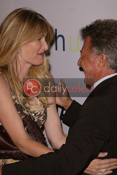 Laura Dern and Dustin Hoffman