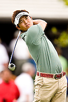 March 27, 2009, Arnold Palmer Invitational * Second Round*.   Ryuji Imada tees off on the 10th tee during second round play  at Bay Hill Golf Club in Orlando, Florida...