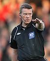 Referee Tony Bates. - Stevenage v Sheffield United - npower League 1 Play-off semi-final 1st leg - Lamex Stadium, Stevenage  - 11th May, 2012. © Kevin Coleman 2012