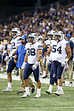 SEATTLE, WA - September 29:  BYU's Butch Pau'u against Washington during the college football game between the Washington Huskies and the BYU Cougars on September 29, 2018 at Husky Stadium in Seattle, WA. Washington won 27-20 over BYU.