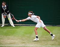 26-06-12, England, London, Tennis , Wimbledon, Robin Haase