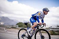 Remco Evenepoel (BEL/Deceuninck-Quickstep) training up the Coll de Rates during the january 2020 Team Deceuninck-QuickStep training camp in Calpe, Spain<br />  <br /> ©kramon